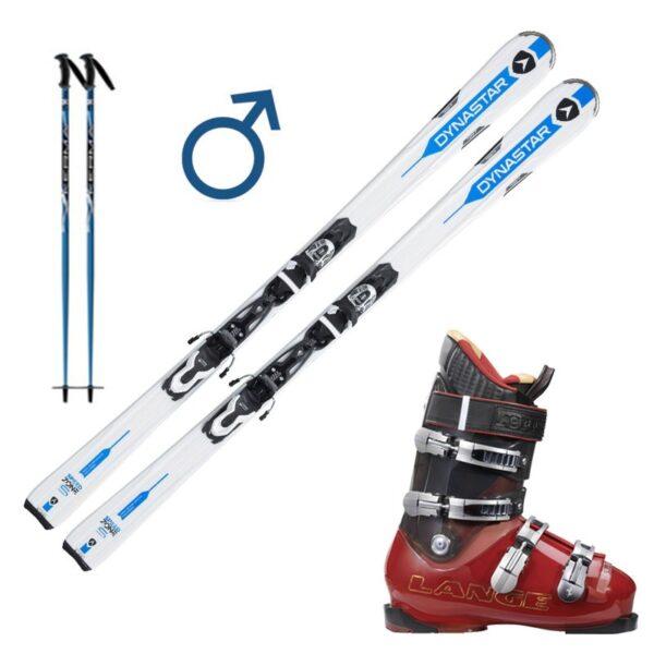 Pack Ski Bleu
