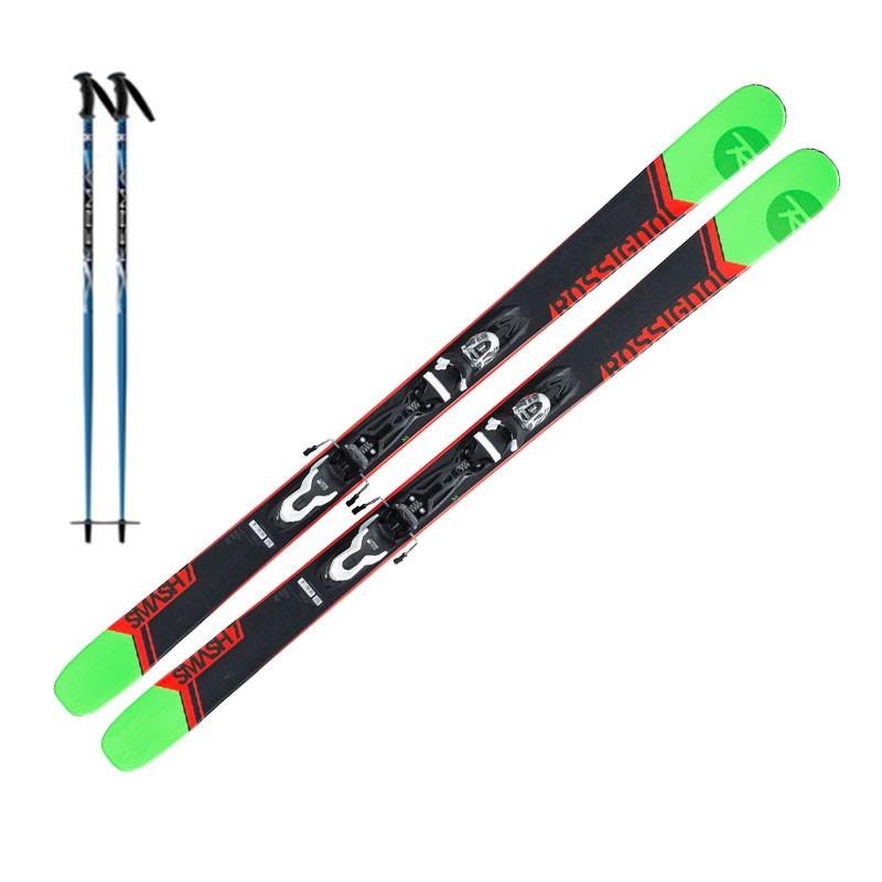 Ski Adulte Rouge