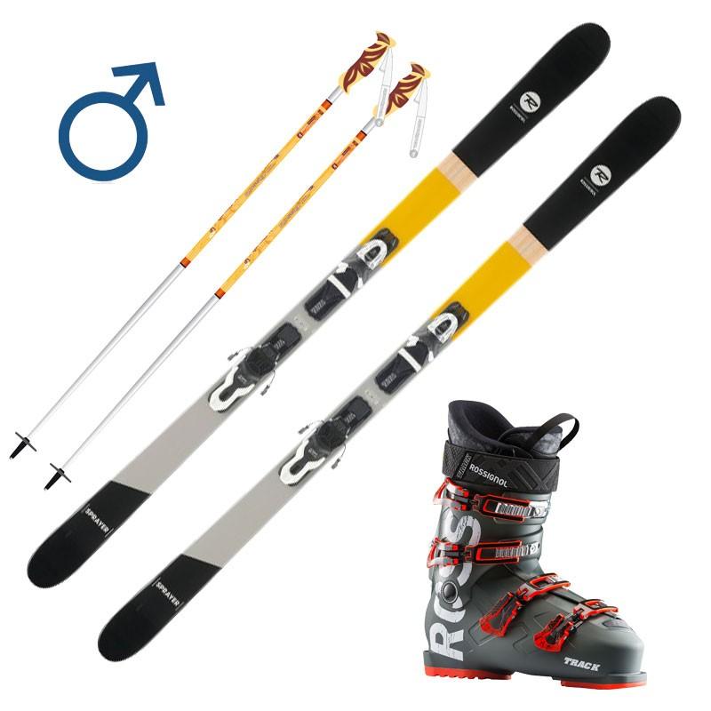 Pack Ski Rouge